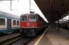 SBB Re420 11140 at Chiasso with EC153 0747 Luzern - Milan Central; about to be replaced by FS E444, 444030
