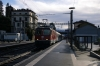 SBB Re420 11118 arrives at Locarno with IR2155 0818 Bellinzona - Locarno (11128 is on the rear)