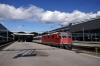 SBB Re420 11121 departs Luzern with IR2173 1204 Basel - Locarno