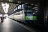 BLS Re420 420504 on the blocks at Luzern with 3328 1357 Luzern - Bern