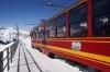 BDhe4/8 EMUs 217/218 at Eigergletscher with 550 1130 Jungfraujoch - Kleine Scheidegg