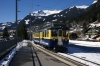 BOB ABeh4/4 #307 arrives into Grindelwald with 267 1405 Interlaken Ost - Grindelwald