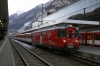 MGB Deh4/4 I #23 at Visp with 219 0843 Visp - Zermatt
