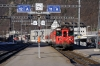 MGB Deh4/4 I #55 arrives into Brig Bahnhofplatz with 530 0908 Visp - Goschenen
