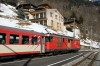 MGB Deh4/4 I #55 at Fiesch with 530 0908 Visp - Goschenen