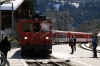 MGB Deh4/4 II #92 arrives into Fiesch with 542 1208 Visp - Goschenen