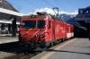 MGB HGe4/4 II #5 at Vsip with 241 1352 Brig Bahnhofplatz - Zermatt