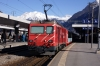 MGB HGe4/4 II #2 at Vsip with 246 1339 Zermatt - Brig Bahnhofplatz