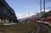 MGB Deh4/4 I #23 heading away from Stalden-Saas with 219 0843 Visp - Zermatt