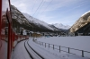 MGB Deh4/4 I #23 approaches Randa with 219 0843 Visp - Zermatt
