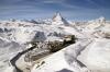 GGB Bhe4/8's 3054/3053 at Gornergrat with 234 1155 Gornergrat - Zermatt