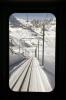 View from the front of GGB Bhe4/8 3054 as it sets off from Gornergrat with 234 1155 Gornergrat - Zermatt