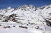GGB Bhe4/8 3044 descends from Riffelberg towards Zermatt with an empty ski train