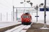 MGB HGe4/4 II #103 arrives at Oberalppass with 832 1127 Andermatt - Disentis