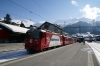RhB Ge4/4 II #618 at Klosters Platz with RE1236 1140 Scuol-Tarasp - Disentis