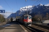 SBB Re420 11124 arrives at Landquart with IC10761 0807 Zurich HB - Chur
