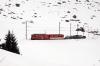 MGB Deh4/4 I #21 approaches Dieni with the 1150 Sedrun - Andermatt car train