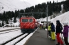 MGB HGe4/4 II #104 arrives at Dieni with 832 1127 Andermatt - Disentis