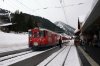 MGB Deh4/4 I #24 arrives at Sedrun with 835 1214 Disentis - Andermatt