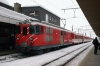 MGB HGe4/4 II #24 at Andermatt with 844 1427 Andermatt - Disentis