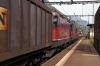 SBB Cargo Re420's 11166, 11267 & 11190 pass through Erstfeld with a freight towards Arth Goldau