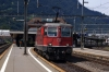 SBB Re4/4 11145 departs Arth Goldau with IR2271 1209 Zurich HB - Locarno