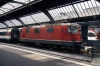 SBB Re4/4 11154 at Zurich HB after arrival with IR2272 1047 Locarno - Zurich HB
