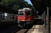 SBB Re4/4 11116 arrives into Bellinzona with IR2176 0947 Locarno - Basel
