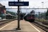 SBB Cargo Re4/4's 420307/11357 run through Arth Goldau with a freight off the Gotthard Pass