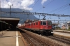 SBB Re4/4 11273 & Re6/6 11603 run through Arth Goldau with a Gotthard Pass bound freight