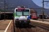 SOB Voralpen Express VAE2416 1105 St Gallen - Luzern prepares to depart Art Goldau with T&T EMU's; meanwhile SBB Re460 460053 waits to depart with IR2271 1209 Zurich HB - Locarno