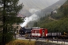 DFB 2-6-0RT #1 arrives into Gletsch with 131 1015 Realp - Oberwald