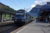 BLS Re465 465007 at Kandersteg with Extrazug 30139 0830 Bern - Goppenstein
