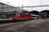 SBB Re4/4 11145 T&T with 11116 rear at Luzern prior to departure with IR3514 0720 Luzern - Zurich HB