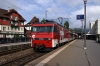 ZB HGe101 101961 departs Stans with 3662 0910 Luzern - Engelberg
