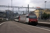 SBB Re460 460031 arrives into Luzern with IR2459 0917 Basel - Luzern