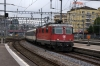 SBB Re4/4 11198 arrives into Luzern with IR2170 0711 Chiasso - Basel