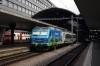 SOB Re456 456091 T&T with 456096 rear wait to depart Luzern with Voralpen Express VAE2423 1140 Luzern - St Gallen