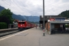 RhB Ge6/6 II #701 arrives into Domat/Ems with 4221 0753 Ilanz - Chur