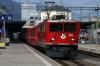RhB Ge6/6 II #701 departs Chur with 5220 0830 Chur - Landquart freight