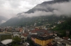 Bellinzona from Castelgrande
