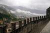Bellinzona from Castelgrande, Switzerland