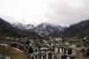 Zermatt from Gornergratbahn