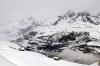 Views from Gornergratbahn whilst climbing from Zermatt to Gornergrat