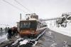 Gornergrat Bahn Bhe 4/8 EMU's 3051/3053 at Gornergrat after arriving with 235 1136 Zermatt - Gornergrat