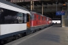 SBB Re 4/4 II's (Re420) 11154/11200 wait to depart Basel with IR1785 1647 Basel - Chur