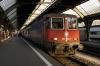 SBB Cargo Re 4/4 II (Re421) 421392 prepares to depart Zurich HB with IC180 1905 Zurich HB - Stuttgart