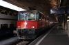 SBB Re 4/4 II (Re420) 420213 T&T's with 420203 (rear) at Zurich HB with 19070 1740 Zurich HB - Muri
