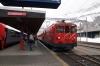 MGB Deh 4/4 II #92 at Andermatt waiting departure with 546 1308 Visp - Goschenen