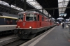 SBB  Re 4/4 II's (Re420) 11127/11116 at Basel with IR2169 1004 Basel - Locarno, which they'd work to Luzern